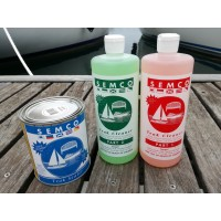 Kit Semco Teak Cleaner Part 1 + Part 2 + Protezione